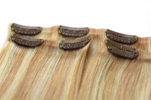 Clip in -40 cm, 3 Pásmové, Bezšvové 40G Ľudské vlasy (1)