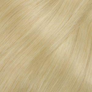 Clip in -40 cm, 3 Pásmové, Bezšvové 40G Ľudské vlasy 60 Jasný blond bronz