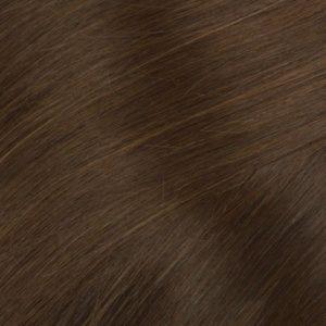 Clip in -40 cm, 3 Pásmové, Bezšvové 40G Ľudské vlasy 4 Konaková