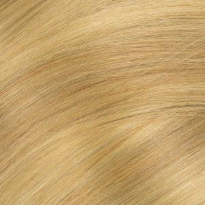 Clip in -40 cm, 3 Pásmové, Bezšvové 40G Ľudské vlasy 24,27 blond