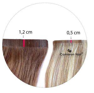 Clip in -Bezšvové Ľudské vlasy.