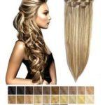 Clip in -50 cm, 3 Pásmové, Bezšvové 60G Ľudské vlasy.