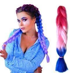 Farebné vrkoče do vlasov