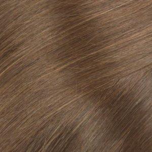 Vrkoč Ľudské vlasy. Dĺžka 60 cm Váha 90 g .Tmavý blond.8