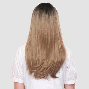 Parochňa model Syntetické vlasy -BLOND LC260