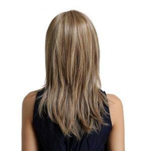 Parochňa model Syntetické vlasy -BLOND LY104