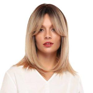 Parochňa model Syntetické vlasy -BLOND OMBRE LC341