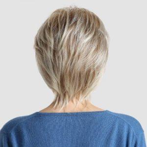 Parochňa model Syntetické vlasy -BLOND WM91