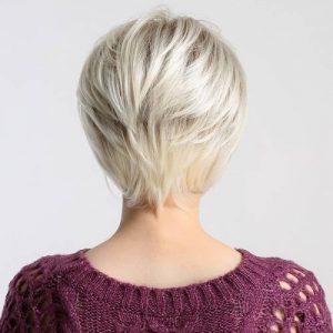 Parochňa model Syntetické vlasy -JASNY BLOND CH006-102