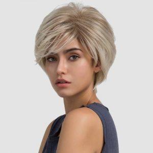 Parochňa model Syntetické vlasy -JASNY BLOND CSS102