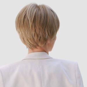 Parochňa model Syntetické vlasy -NATURALNY BLOND SS166-5