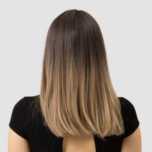 Parochňa model Syntetické vlasy -OMBRE BLOND 05-201-2