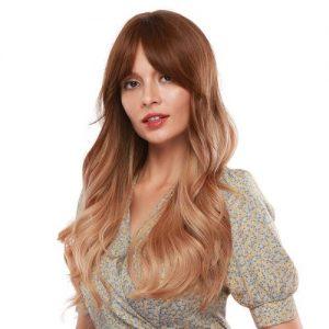 Parochňa model Syntetické vlasy -OMBRE BLOND LC256-1
