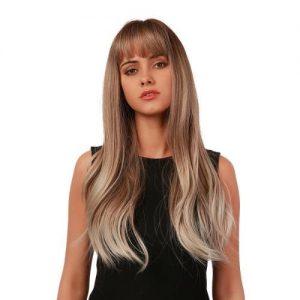 Parochňa model Syntetické vlasy -OMBRE BLOND LC6019