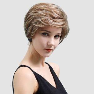 Parochne z pravých ľudských vlasov BALEJA BRONZ RS042-8