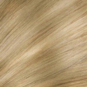 Flip In-Clip in 100% ľudské vlasy. Chladdný blond s jasným 1822