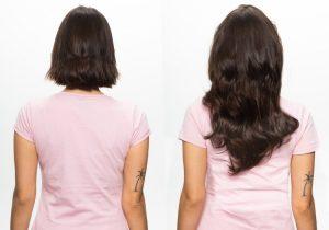 43CM, Ľudské vlasy clip-in