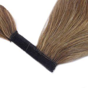 Vrkoč Ľudské Vlasy .Dĺžka 50 Cm Váha 80 G