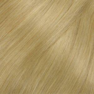 100% Ľudské vlasy clip-in jasný a slnečný blond 24