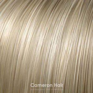 Čelenka z umelých vlákien pieskoví blond, písma platinového blondu 24613